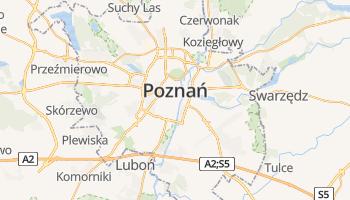 Poznan online kaart