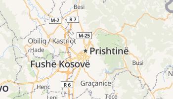 Pristina online kaart