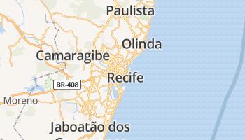 Recife online kaart