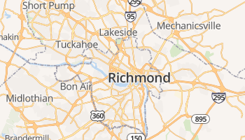 Richmond online kaart