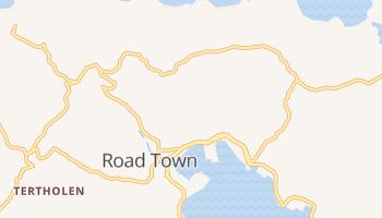 Road Town online kaart