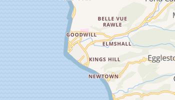 Roseau online kaart