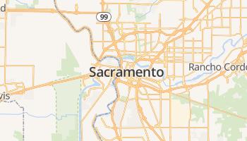 Sacramento online kaart