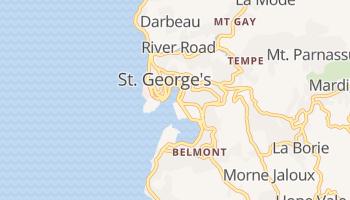 Saint George's online kaart