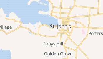 Saint John's online kaart