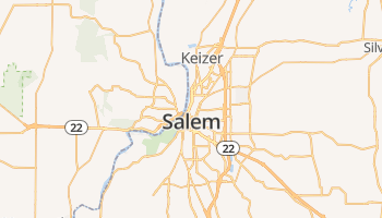 Salem online kaart