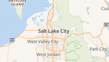 Salt Lake City online kaart