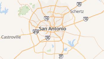 San Antonio online kaart