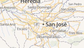 San José online kaart