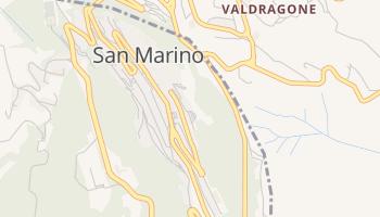 San Marino online kaart