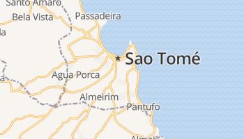 Sao Tomé online kaart