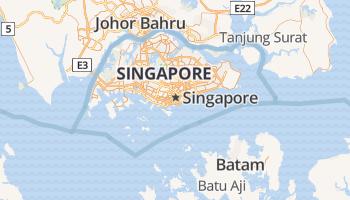 Singapore online kaart