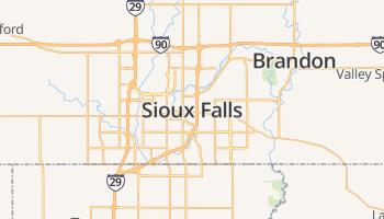 Sioux Falls online kaart