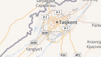 Tasjkent online kaart
