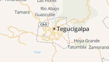 Tegucigalpa online kaart
