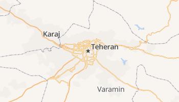 Teheran online kaart