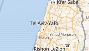 Tel Aviv online kaart
