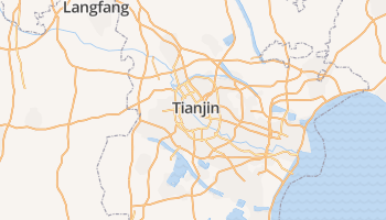 Tianjin online kaart