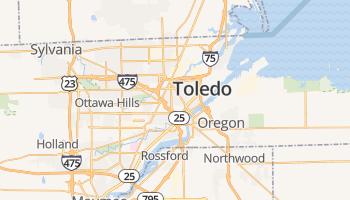 Toledo online kaart