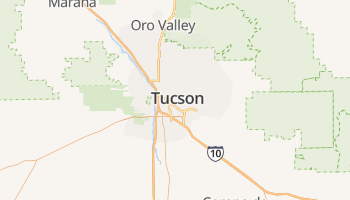 Tucson online kaart