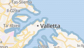 Valletta online kaart