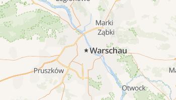 Warschau online kaart