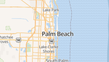 West Palm Beach online kaart