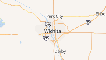 Wichita online kaart