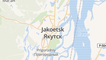 Jakoetsk online kaart