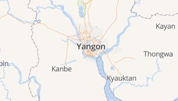Rangoon online kaart
