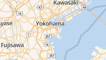 Yokohama online kaart