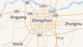 Zhengzhou online kaart