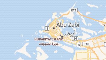 Abu Zabi - szczegółowa mapa Google