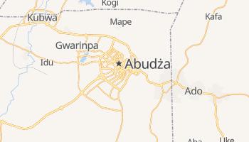 Abudża - szczegółowa mapa Google