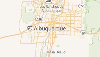 Albuquerque - szczegółowa mapa Google