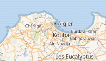 Algier - szczegółowa mapa Google