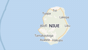 Alofi - szczegółowa mapa Google