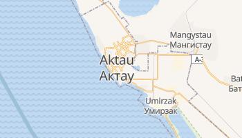 Aktau - szczegółowa mapa Google