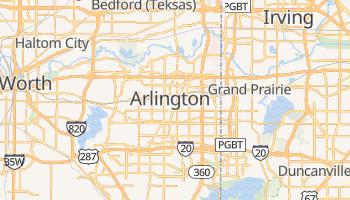 Arlington - szczegółowa mapa Google