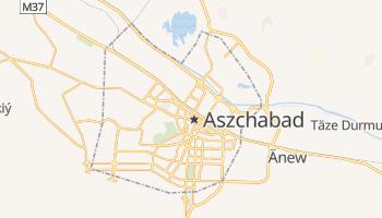 Aszchabad - szczegółowa mapa Google