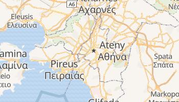 Ateny - szczegółowa mapa Google