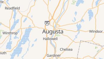 Augusta - szczegółowa mapa Google
