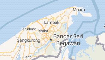 Bandar Seri Begawan - szczegółowa mapa Google