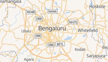 Bangalur - szczegółowa mapa Google