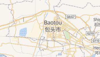 Baotou - szczegółowa mapa Google