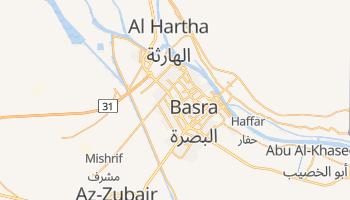 Al-Basra - szczegółowa mapa Google
