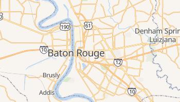Baton Rouge - szczegółowa mapa Google