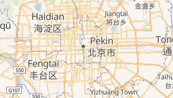 Pekin - szczegółowa mapa Google