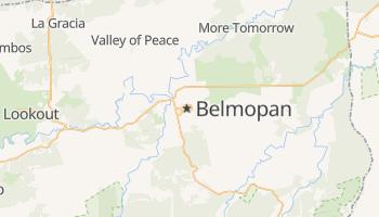 Belmopan - szczegółowa mapa Google