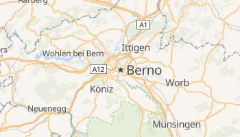 Berno - szczegółowa mapa Google
